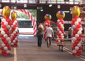Angiani ballondekorationen ballondeko ballongirlanden for Heliumballons duisburg